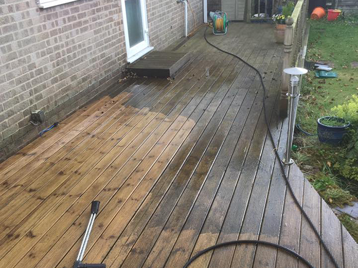 Decking Cleaning Thatcham