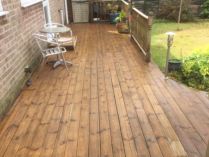 Decking Cleaning Thatcham, Newbury